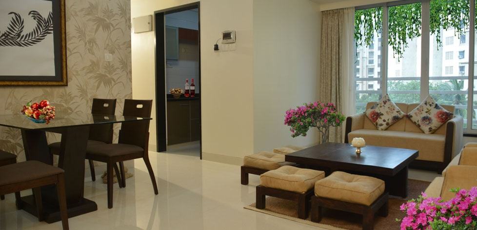 Matoshree Nisarg Living Room � Flats For Sale In Mulund East