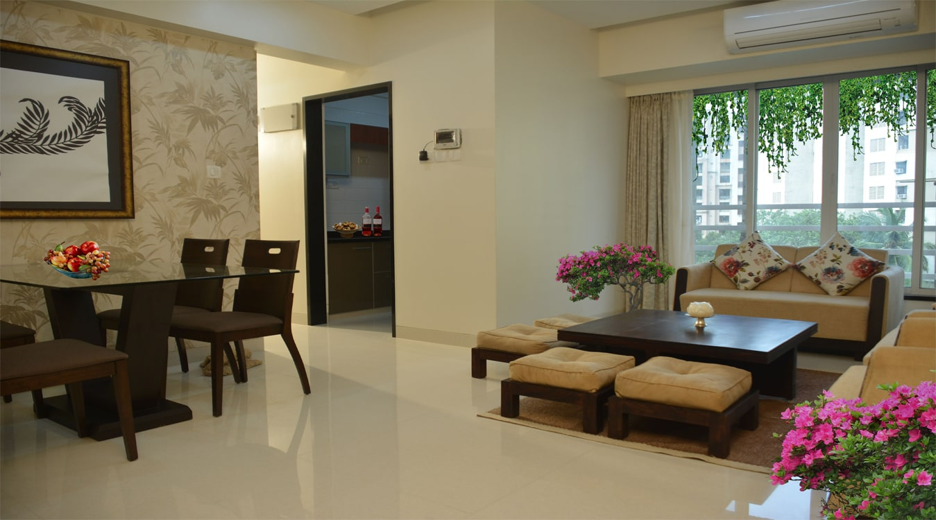 Matoshree Nisarg Living Room - Flats in Mulund (East)