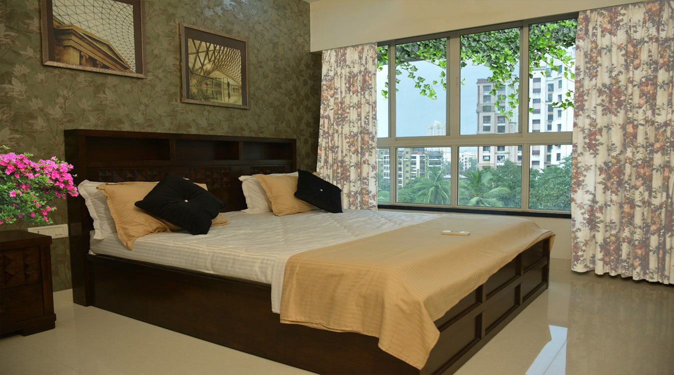Matoshree Nisarg Bedroom- Flats in Mulund (East)